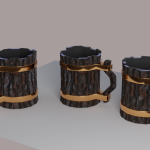 lowpolyCups